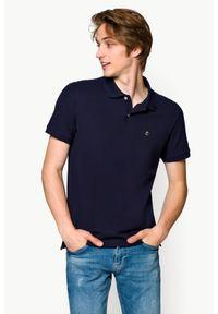 Niebieska koszulka polo Lancerto polo, klasyczna