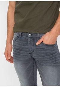 Dżinsy dresowe Skinny Fit Straight bonprix szary denim. Kolor: szary #3
