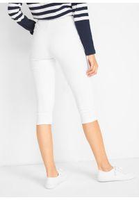 Białe spodnie bonprix