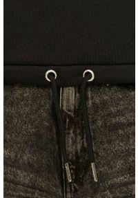 Czarna bluza Ellesse na co dzień, z kapturem, casualowa