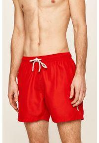 Czerwone kąpielówki John Frank