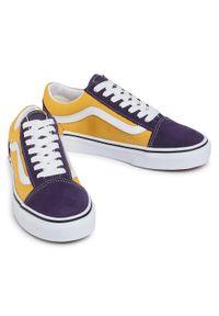 Żółte buty sportowe Vans z cholewką, Vans Old Skool