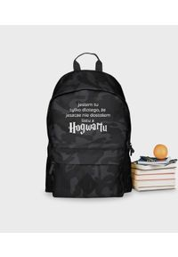 MegaKoszulki - Plecak moro Hogwart On. Materiał: poliester. Wzór: moro