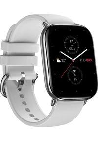 AMAZFIT - Smartwatch Amazfit Zepp E Square Szary (ZEG-SMW-0063). Rodzaj zegarka: smartwatch. Kolor: szary