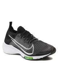 Nike - Buty NIKE - Air Zoom Tempo Fk (Gs) CJ2102 001 Black/White/Volt. Okazja: na co dzień. Kolor: czarny. Materiał: materiał. Styl: casual. Model: Nike Zoom