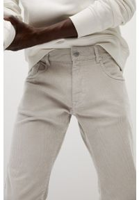 Szare spodnie Mango Man