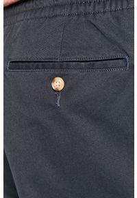 Niebieskie szorty Polo Ralph Lauren na co dzień, gładkie, casualowe