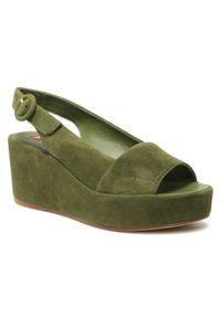 Zielone sandały HÖGL