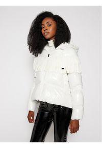 Biała kurtka puchowa Pinko