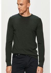 Zielony sweter Clean Cut Copenhagen casualowy, na co dzień, z długim rękawem