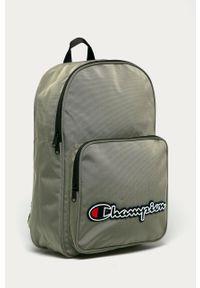 Zielony plecak Champion z aplikacjami
