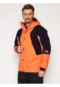 Pomarańczowa kurtka turystyczna The North Face