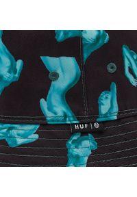 Bucket HUF - Her Reversible HT00534 Black. Materiał: poliester, materiał, bawełna
