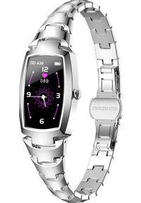 Smartwatch KingWear H8 Pro Srebrny (H8 PRO). Rodzaj zegarka: smartwatch. Kolor: srebrny