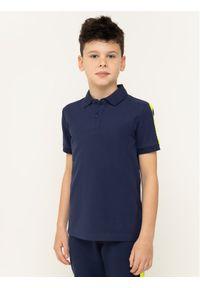 Niebieski t-shirt polo Calvin Klein Jeans polo