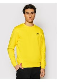 Żółta bluza Alpha Industries