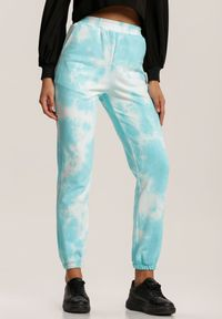 Niebieskie spodnie dresowe Renee