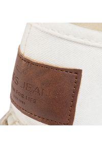Białe półbuty Cross Jeans casualowe, na co dzień #7