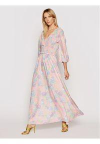 NA-KD Sukienka letnia Smocked 1018-006780-0689-581 Kolorowy Regular Fit. Wzór: kolorowy. Sezon: lato