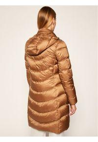 Brązowa kurtka puchowa Geox #8