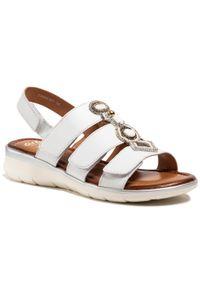Białe sandały Ara