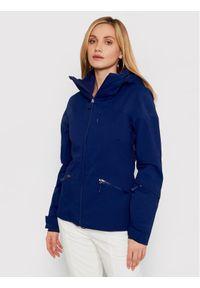 The North Face Kurtka narciarska Lenado NF0A3M5BN8E Granatowy Slim Fit. Kolor: niebieski