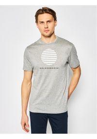 Baldessarini T-Shirt Tino 47401/000/5357 Szary Modern Fit. Kolor: szary