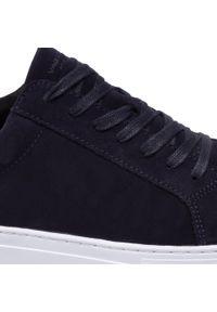 vagabond - Sneakersy VAGABOND - Paul 4983-040-67 Indigo. Okazja: na co dzień. Kolor: niebieski. Materiał: zamsz, skóra. Szerokość cholewki: normalna. Styl: casual, elegancki