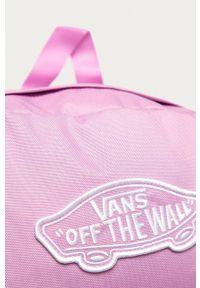 Vans - Plecak. Kolor: fioletowy