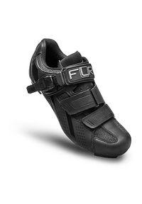 Buty rowerowe męskie FLR F-15 III. Zapięcie: klamry. Materiał: włókno, nylon. Szerokość cholewki: normalna. Wzór: paski. Sport: kolarstwo