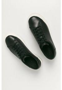 Czarne buty sportowe Camper z cholewką, na średnim obcasie, na obcasie