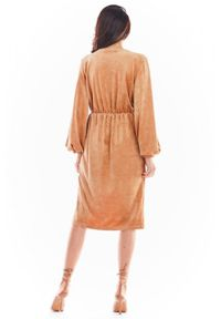 Sukienka Awama kopertowa