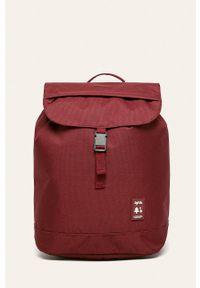 Czerwony plecak Lefrik w paski