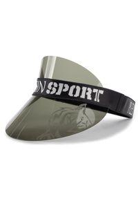 Czarna czapka z daszkiem Plein Sport sportowa
