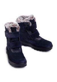 Niebieskie śniegowce Superfit na spacer
