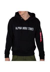 Alpha Industries RBF Moto Hoody Sweats > 11633703. Materiał: bawełna, poliester. Wzór: nadruk. Styl: klasyczny