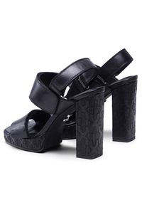 Czarne sandały Bronx