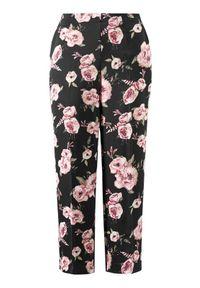 Czarne spodnie Cellbes eleganckie, w kwiaty