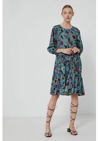 medicine - Medicine - Sukienka Divine Love 2. Kolor: turkusowy. Typ sukienki: rozkloszowane