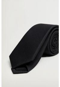 Czarny krawat Mango Man