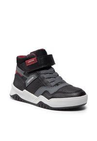 Geox Sneakersy J Perth B. A J167RA 0FEFU C0260 M Czarny. Kolor: czarny
