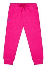 Polo Ralph Lauren Spodnie dresowe 312833611001 Różowy Regular Fit. Kolor: różowy. Materiał: dresówka