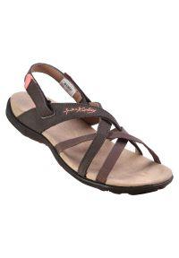 Sandały damskie McKinley Fidji 288351. Zapięcie: pasek. Materiał: guma, materiał, syntetyk. Sezon: lato