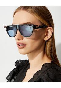 DIOR - Okulary Dior Club 2. Kolor: czarny. Materiał: materiał. Wzór: aplikacja
