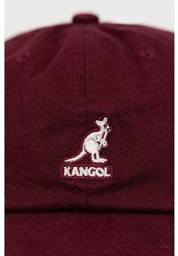 Kangol - Czapka. Kolor: fioletowy
