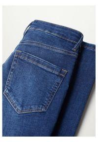 mango - Mango Jeansy Noa 87001037 Granatowy Skinny Fit. Kolor: niebieski