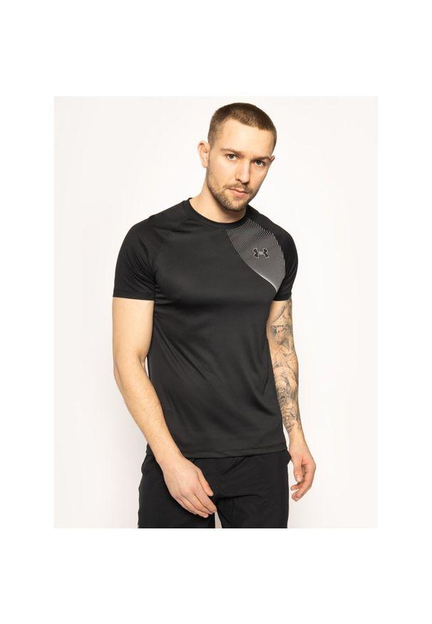 Czarna koszulka sportowa Under Armour