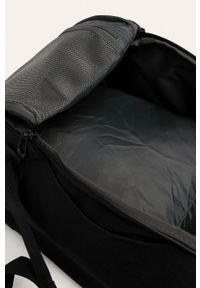 Czarna torba podróżna adidas Performance z nadrukiem