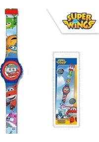 Cass film Zegarek elektroniczny Super Wings. Rodzaj zegarka: cyfrowe