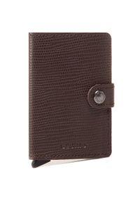 Brązowy portfel Secrid